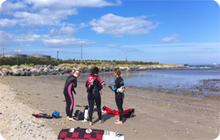 Hen party activity idea Dublin: Surf Dock