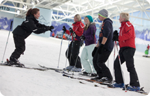 Chill Factore Indoor skiing for hen parties