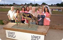 Bell Vue Greyhound stadium a great idea for hen parties in Manchester