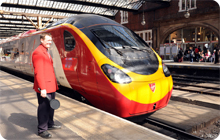 Hen Party rail travel to Manchester