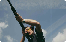 Stag party Dublin activity idea: extreme clay pigeon shooting