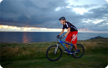 Newquay stag party activity idea: Mountain biking