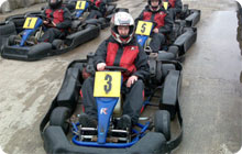 Blackpool hen party activity: Go karting